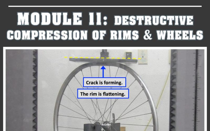 Destructive Compression of Rims & Wheels